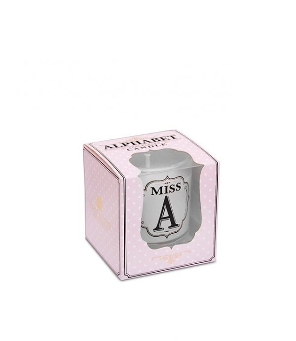 00276300001-Alphabet-Candle--Miss-A