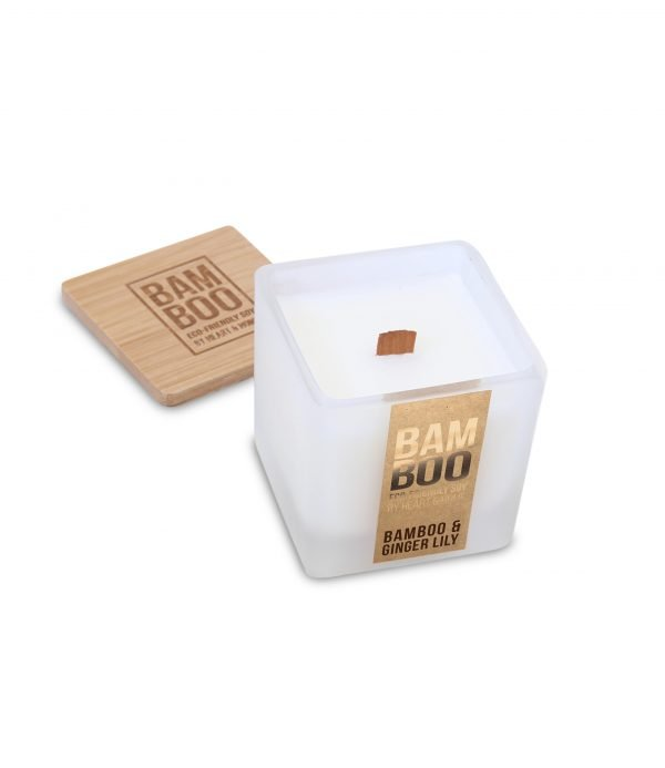 00276710500 Bamboo Small Candle - Bamboo & Ginger Lily OPEN