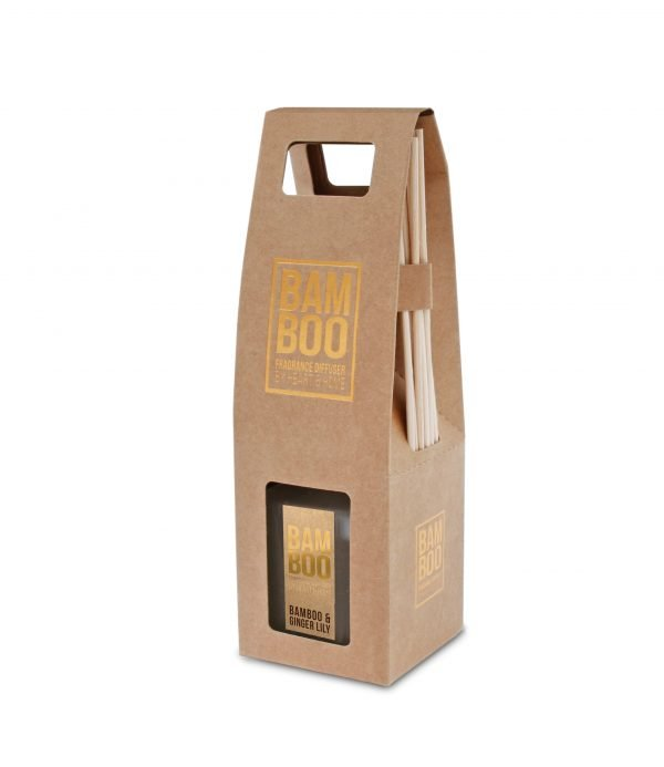 00276720500-Reed Diffuser -Bamboo & Ginger Lily