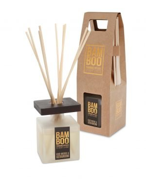00276720503-Reed Diffuser -Oudwood & Geranium OPEN