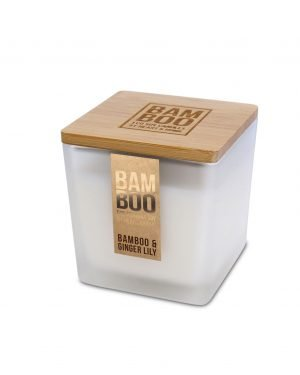 00276740500 Bamboo Large Candle - Bamboo & Ginger Lily