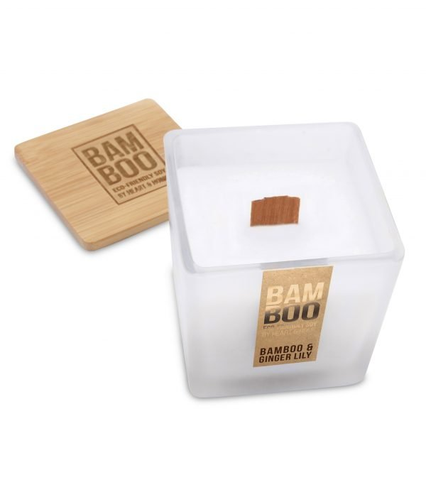 00276740500 Bamboo Large Candle - Bamboo & Ginger Lily OPEN